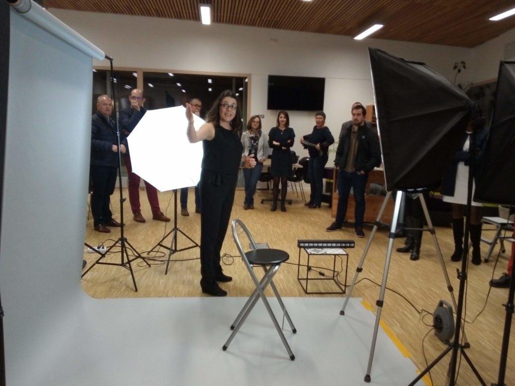 Rozenn présente le studio mobile